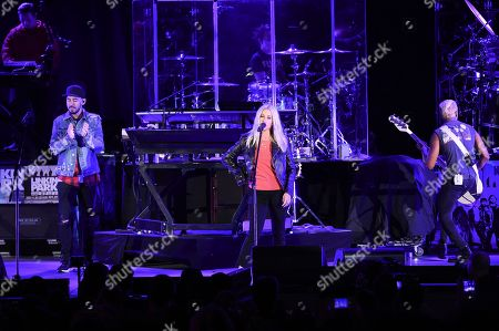 Alanis Morissette, Tony Kanal. Alanis Morissette, center, and Tony Kanal perform with Linkin Park during Linkin Park and Friends Celebrate Life in Honor of Chester Bennington at the Hollywood Bowl, in Los Angeles