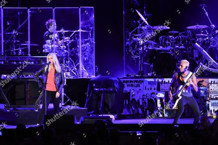 Alanis Morissette, Tony Kanal. Alanis Morissette, left, and Tony Kanal perform with Linkin Park during Linkin Park and Friends Celebrate Life in Honor of Chester Bennington at the Hollywood Bowl, in Los Angeles