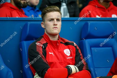 First team squad debut for Barnsley goalkeeper Jack Walton (30)  during the EFL Sky Bet Championship match between Sheffield Wednesday and Barnsley at Hillsborough, Sheffield