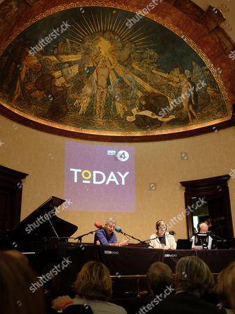 BBC Radio 4's Today programme's 60th anniversary, presented by Justin Webb, Sarah Montague and John Humphrys, Wigmore Hall, London.