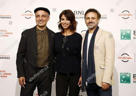 Pablo Berger, Maribel Verdu and Jose Mota