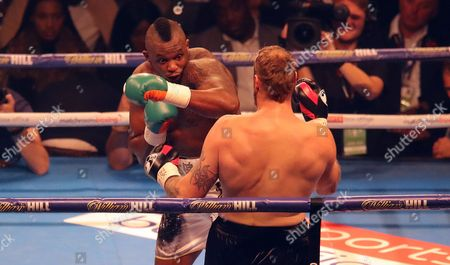 Stock Picture of Dillian Whyte fights Robert Helenius