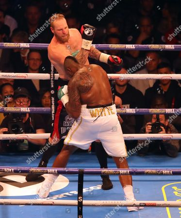 Dillian Whyte fights Robert Helenius