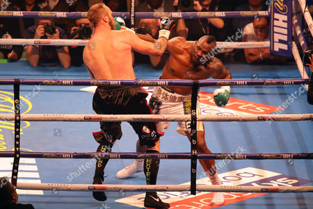Stock Photo of Dillian Whyte fights Robert Helenius