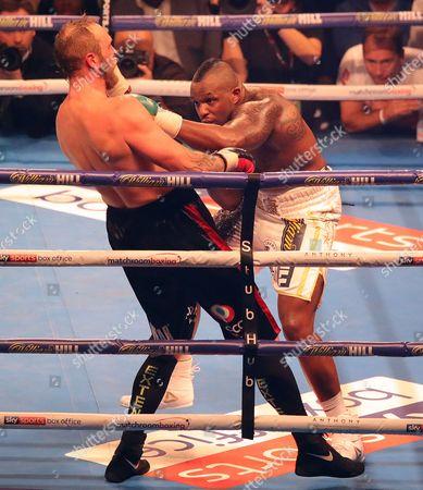 Editorial photo of Boxing - Joshua v Takam IBF, WBA and IBO Heavyweight Championship - Undercard, Principality Stadium, Cardiff, UK, - 28 Oct 2017