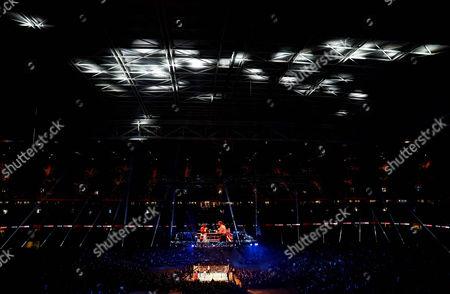 Editorial picture of Boxing - Joshua v Takam IBF, WBA and IBO Heavyweight Championship - Undercard, Principality Stadium, Cardiff, UK, - 28 Oct 2017