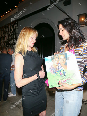 Stock Photo of Melanie Griffith and Angie Harmon