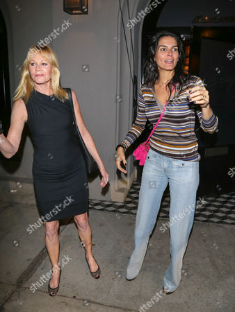 Melanie Griffith and Angie Harmon