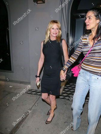 Stock Picture of Melanie Griffith and Angie Harmon