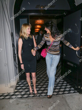 Editorial picture of Melanie Griffith and Angie Harmon out and about, Los Angeles, USA - 27 Oct 2017