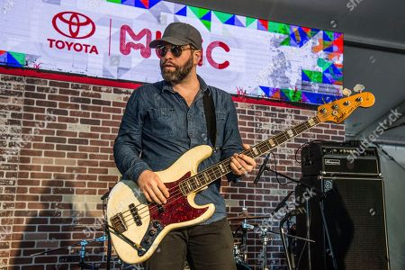 Stock Photo of Alex Maas of The Black Angels performs at the Voodoo Music Experience in City Park, in New Orleans