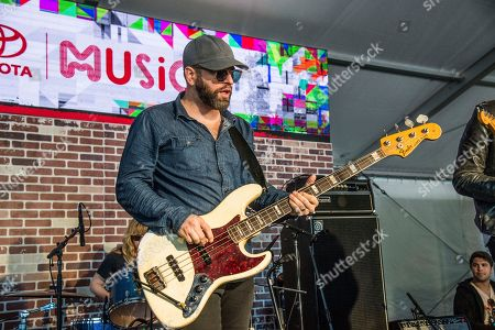 Alex Maas of The Black Angels performs at the Voodoo Music Experience in City Park, in New Orleans