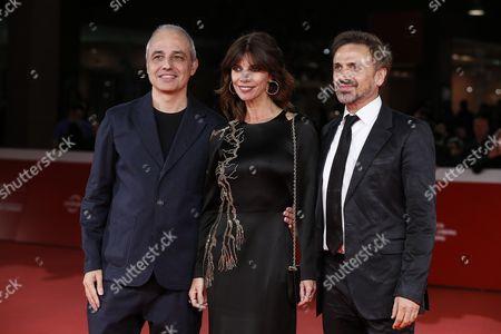Maribel Verdu, Pablo Berger and Jose Mota