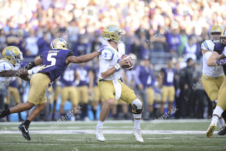 Editorial picture of NCAA Football UCLA vs Washington, USA - 28 Oct 2017