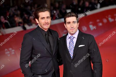 Jake Gyllenhaal and Jeff Bauman