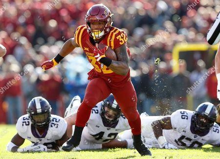 Editorial picture of TCU Iowa St Football, Ames, USA - 28 Oct 2017