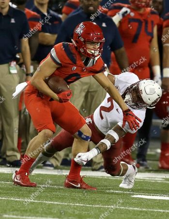 Washington State defensive back Robert Taylor (2) in the second half during an NCAA college football game against Arizona, in Tucson, Ariz. Arizona defeated Washington State 58-37