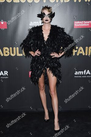 Model Lindsay Ellingson attends the Fabulous Fund Fair, hosted by the Naked Heart Foundation and amfAR, at Skylight Clarkson North, in New York
