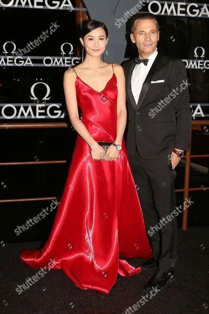 Editorial photo of Omega Gala Evening, Palazzo Pisani Moretta, Venice, Italy - 28 Oct 2017