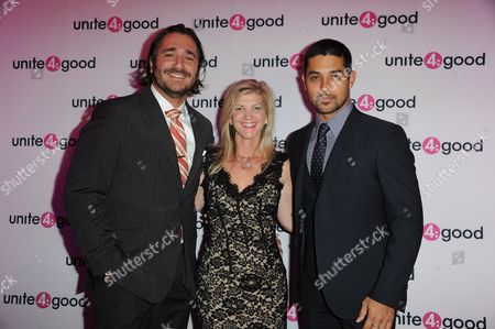 Unite 4:good - The Global Movement for Humanity at Residence of Baronness Von Bismark Red Carpet: Sergio Fernando de Cordoba - Danielle Alexandra - Wilmer Valderrama