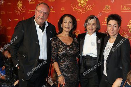 Erhard Priewe, Daniela Ziegler, Tatjana Kreidler, Dunja Hayali