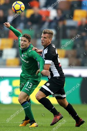 Editorial picture of Udinese-Atalanta, Udine, Italy - 29 Oct 2017