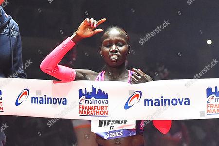 Editorial picture of Mainova Frankfurt Marathon 2017, Frankfurt, Germany - 29 Oct 2017
