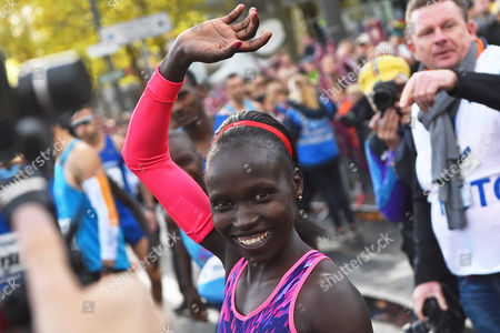 Editorial image of Mainova Frankfurt Marathon 2017, Frankfurt, Germany - 29 Oct 2017