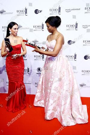 Aida Garifullina and Pretty Yende