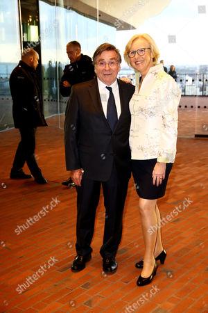 Elmar Wepper and seine Frau Anita Schlierf