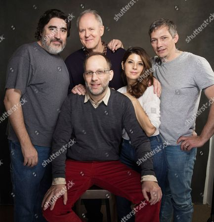 Editorial picture of 2014 Sundance Film Festival - Alfred Molina, John Lithgow, Ira S, Park City, USA