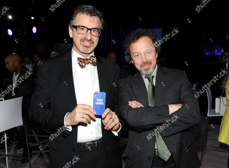 "King of the Nerds"" co-hosts Robert Carradine, left, and Curtis Armstrong attend the TNT and TBS 2013 Upfront at the Hammerstein Ballroom, in New York. Carradine has been cited for careless driving for a crash that injured himself and his wife, Edith, in Colorado. The accident happened March 5, 2015, near Dolores in the state's southwestern corner. The Colorado State Patrol says the 60-year-old Revenge of the Nerds star crossed into the oncoming lane on Colorado Highway 145, crashing into a tractor-trailer"