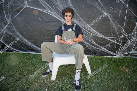 Ron Gallo poses at the Voodoo Music Experience in City Park, in New Orleans