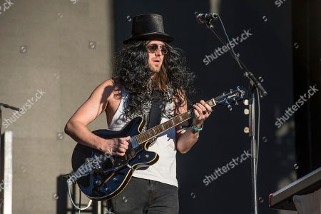 Matt Gervais of The Head and the Heart performs at the Voodoo Music Experience in City Park, in New Orleans