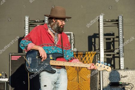 Chris Zasche of The Head and the Heart performs at the Voodoo Music Experience in City Park, in New Orleans