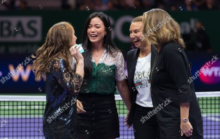 Editorial image of WTA Finals, Day Eight, Singapore - 29 Oct 2017