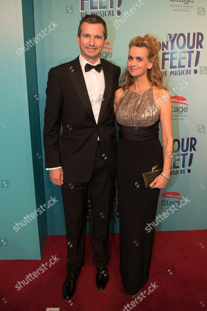 Daphne Deckers and partner Richard Krajicek