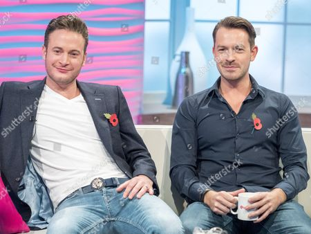 Gary Lucy and Ashley Taylor Dawson