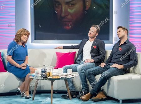 Lorraine Kelly, Gary Lucy and Ashley Taylor Dawson
