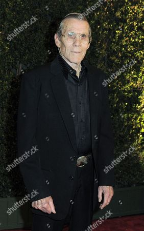 """Hal Needham arrives at the 4th Annual Governors Awards at Hollywood and Highland Center's Ray Dolby Ballroom in Los Angeles. Needham, a top Hollywood stuntman who turned to directing rousing action films including """"Smokey and the Bandit"""" and """"The Cannonball Run,"""" died, his business managers told the Los Angeles Times. He was 82"""