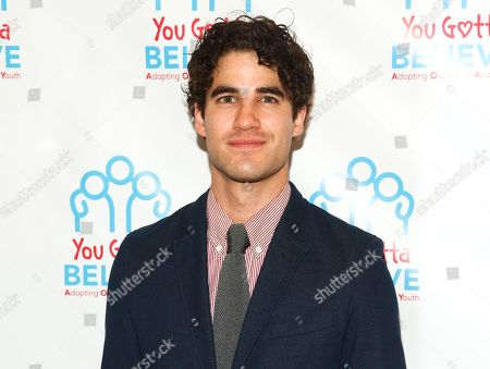 Darren Criss attends Voices for The Voiceless: Stars for Foster Kids in New York. Criss, Aaron Tveit, Leslie Odom Jr., Laura Osnes, Lea Salonga and Seth Rudetsky will perform during Elsie Fest, a one-day outdoor music festival in New York next month on Sept. 27