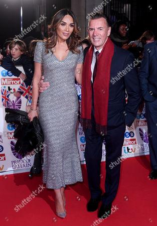 Duncan Bannatyne and Nigora Whitehorn