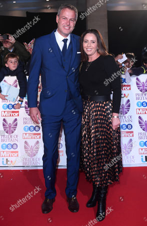 Editorial image of Pride of Britain Awards, Arrivals, Grosvenor House, London, UK - 30 Oct 2017