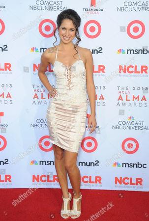 Maiara Walsh arrives at the 2013 NCLR ALMA Awards at Pasadena Civic Auditorium in Pasadena, CA on
