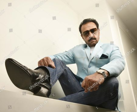 Editorial picture of Gulshan Grover photoshoot, Hindustan Times Media office, New Delhi, India - 26 Oct 2017