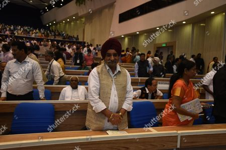Stock Photo of Punjab Minister for Rural Development and Panchayat Mr. Tripat Rajinder Singh Bajwa represents the State