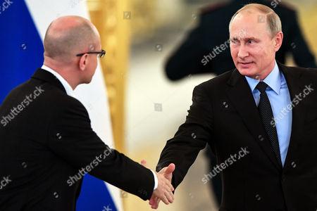 Vladimir Putin and Sergei Kiriyenko