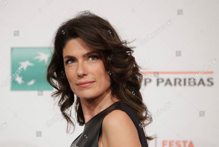 "Actress Anna Valle poses during the photo call of the movie ""L'eta' Imperfetta"", at the 12th edition of the Rome Film Fest, in Rome"