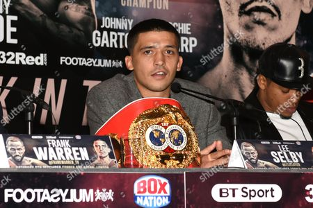 Lee Selby during a Press Conference at the Landmark London Hotel on 30th October 2017