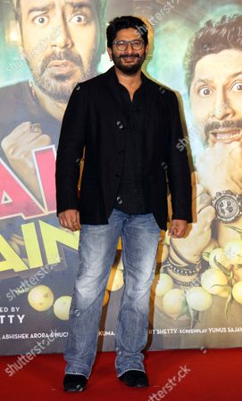 "Bollywood Actor Arshad Warsi during the trailer launch of movie ""Golmaal Again' at PVR ICON, Andheri"